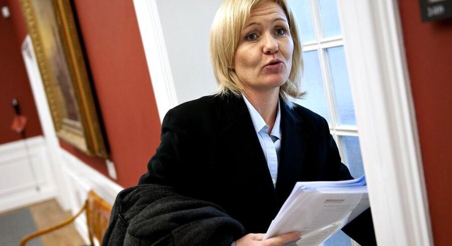 De Konservatives politiske ordfører Carina Christensen opfordrer Lars Løkke Rasmussen til at udskrive valg nu.