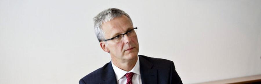 Afviklingsselskabets direktør, Henrik Bjerre-Nielsen