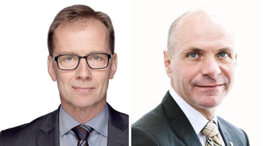 Jens Klarskov, adm.dir i Dansk Erhverv og Søren Gade, Adm.dir i Landbrug