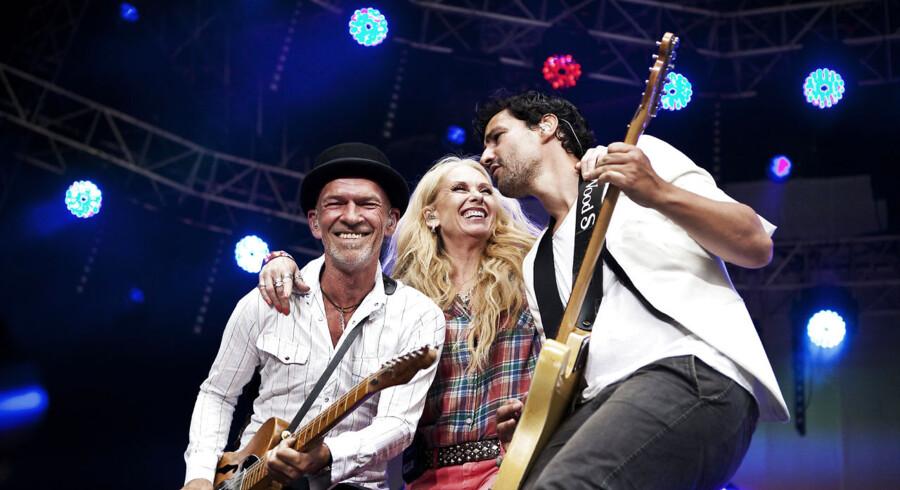 Sanne Salomonsen havde en fest på Rytmehans på årets Skanderborg Festival.