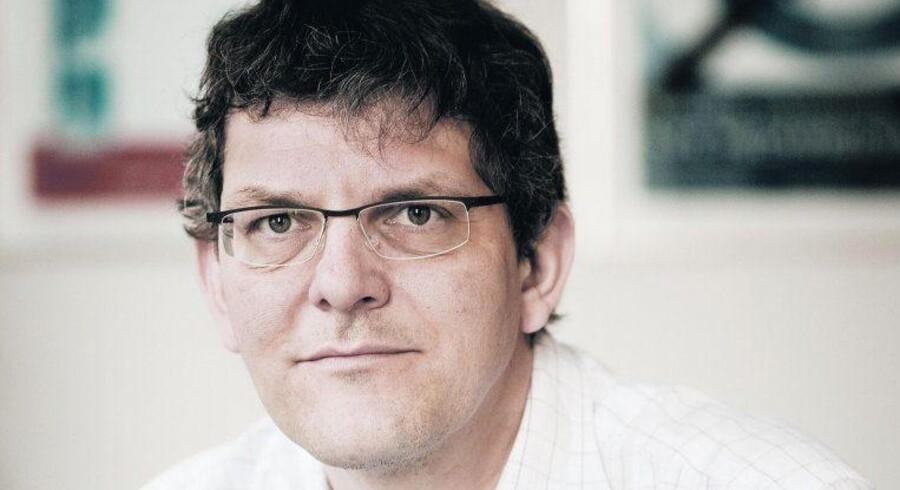 Morten Binder (tv.) var øverste ansvarlig i Københavns Kommune og var med til at trumfe en ulovlig ordning igennem på jobcentret i Farvergade. Nu bliver han chef for Styrelsen for Arbejdsmarked og Rekruttering, der afløser Arbejdsmarkedsstyrelsen – en styrelse, han var med til at stævne. Sagen skal til sommer for Højesteret. Arkivfoto: Mads Nissen/Scanpix