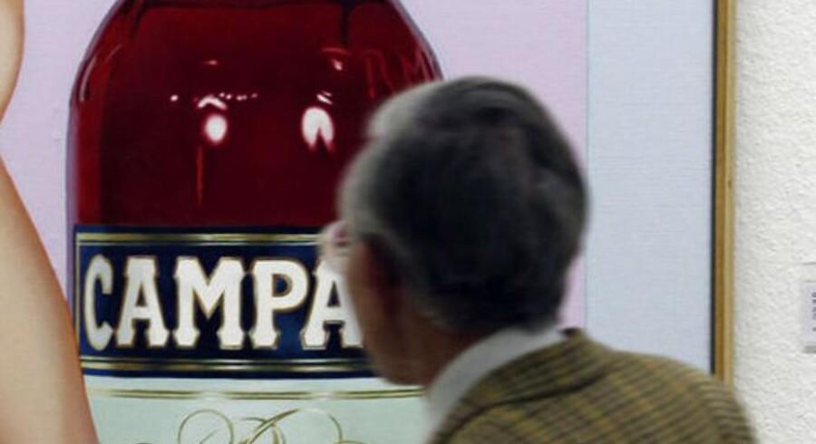 Farvestoffet, karmin, fra Chr. Hansen bruges blandt andet til at farve Campari rød