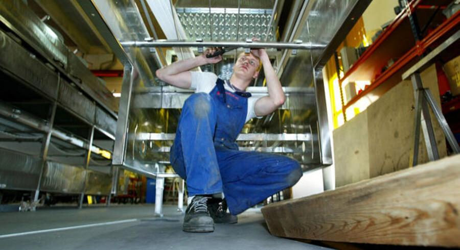 Ordreindgangen viser et fald på 30 procent målt over seks måneder, viser tal fra Danmarks Eksportråd. Jern- og metalindustrien er særlig hårdt ramt.