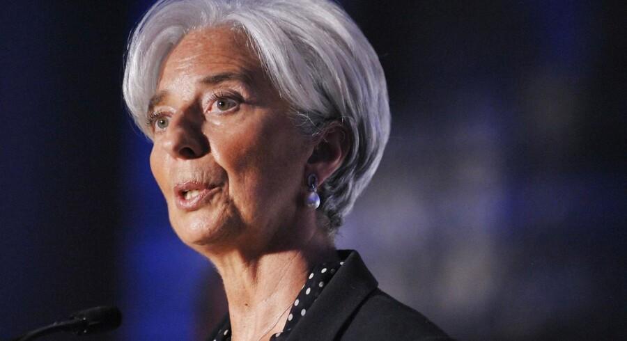 IMFs topchef, Christine Lagarde.