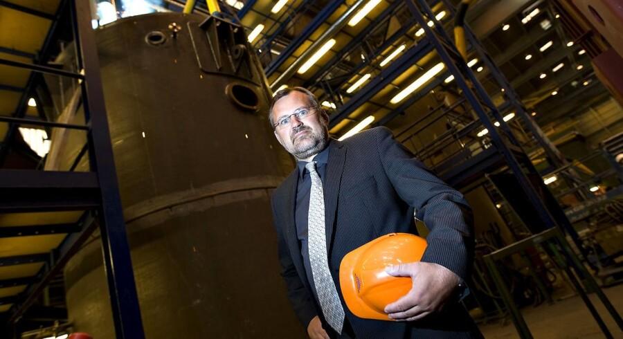 Jan Vestergaard Olsen, administrerende direktør i Aalborg Industries.
