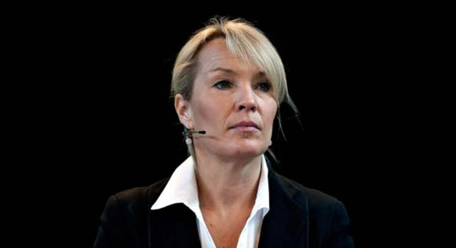 ARKIVFOTO.Troen på at udenrigsminister Lene Espersen (K) kan genrejse partiet og sig selv er forsvindende lille