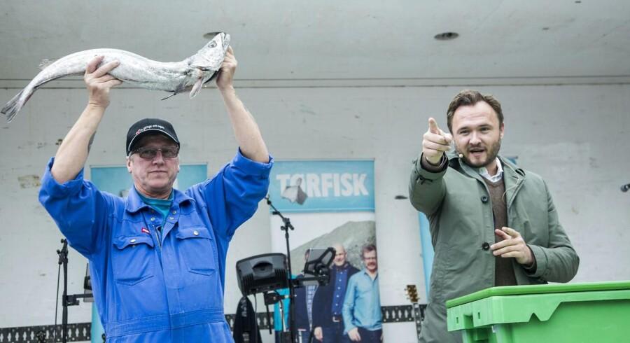 Arkivfoto. Dan Jørgensen er klar med en ny handlingsplan, der skal booste det danske lyst- og fritidsfiskeri.