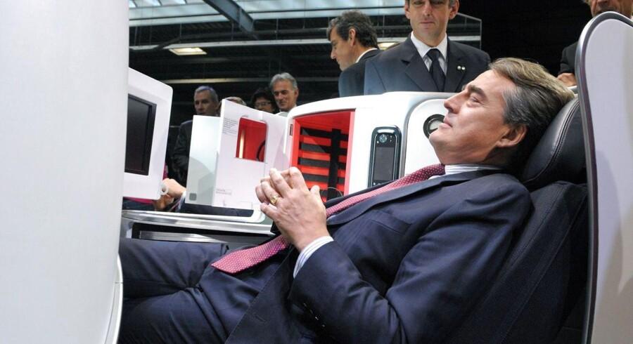 Erhvervslivet har igen fået smag for de komfortable sæder forrest i flyet.