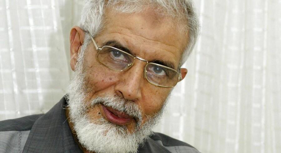 Det Muslimske Broderskab har udpeget Mahmoud Ezzat som midlertidig åndelig leder