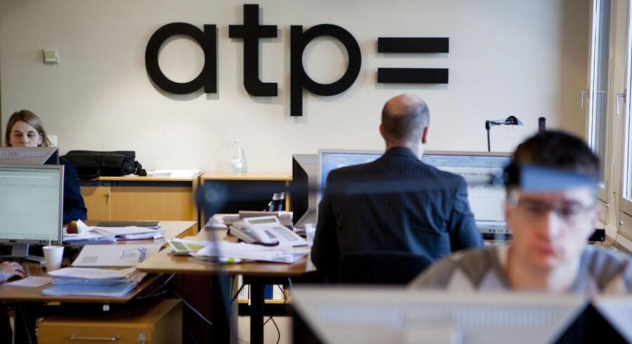 ATP fik et afkast af investeringerne på 58 mia. kr. sidste år.