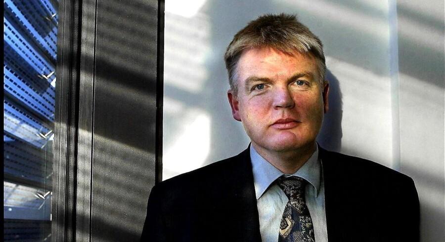 Skatteministeriets departementschef, Peter Loft, der er under skarp beskydning i Thornings skattesag.