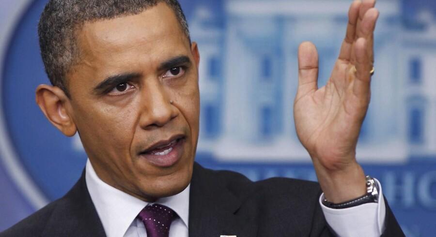 Den amerikanske præsident Barack Obama fortsætter arbejdet med at rydde op efter den finansielle nedsmeltning i 2008.