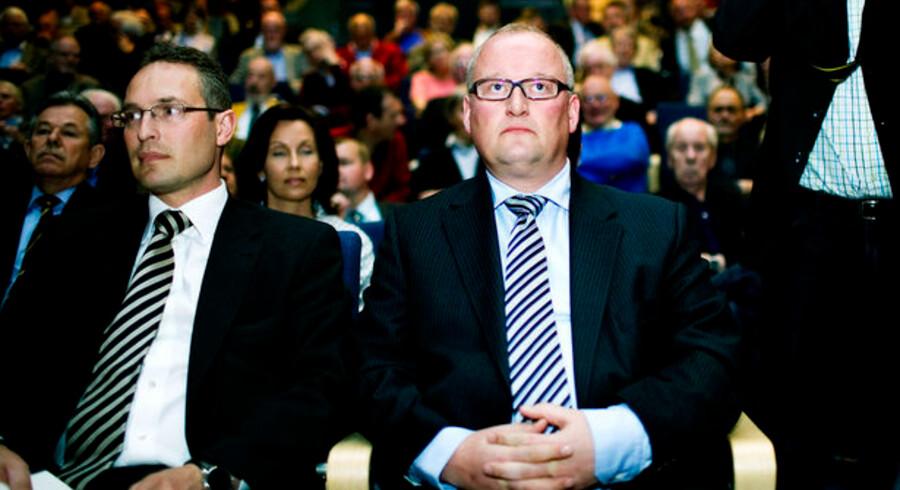 Brian Petersen (tv) er en af Steen Brydes tætteste samarbejdspartnere.