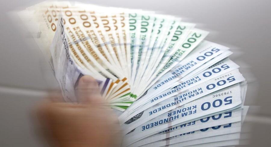 Antallet af dårlige betalere registreret i RKI vokser. Mere end hver tyvende dansker står nu sortlistet.