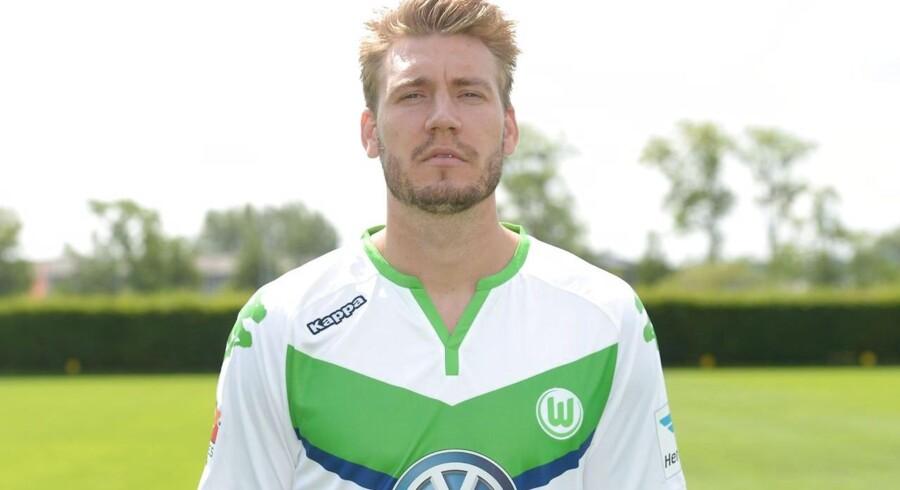 Nicklas Bendtner skal nok engang forsøge at kæmpe sig til en plads i startopstillingen i Wolfsburg.