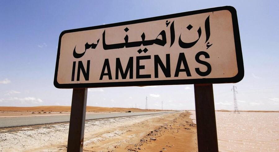 Der er ingen danskere blandt de tilfangetagne i gidselaktionen i In Amenas i Algeriet.