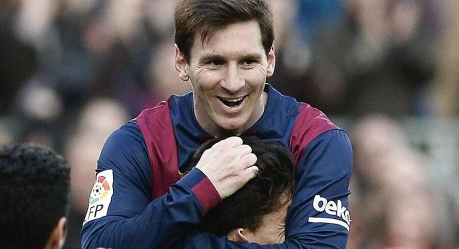 Barcelonas argentinske angriber kan nu kalde sig Europas mest målfarlige mand efter sit hattrick mod Levante.