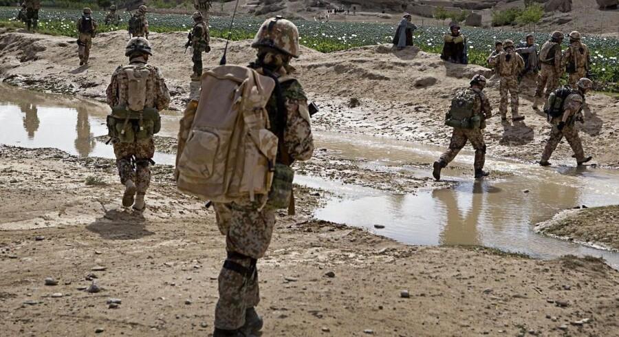 ARKIVFOTO. »Forsvarets analyser af de afgivne svar viser en ensartethed i besvarelserne. Svarmønstret er ikke troværdigt«, lyder det i en rapport fra Forsvarsministeriet.