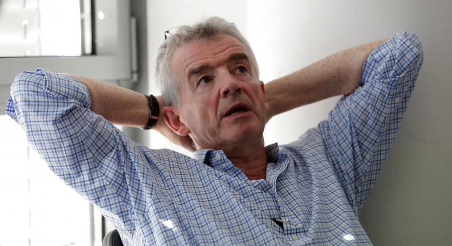 Ryanairs topchef, Michael O'Leary, truer med at flytte job til Polen, hvis flybesætningerne i Europa fortsætter med at strejke.