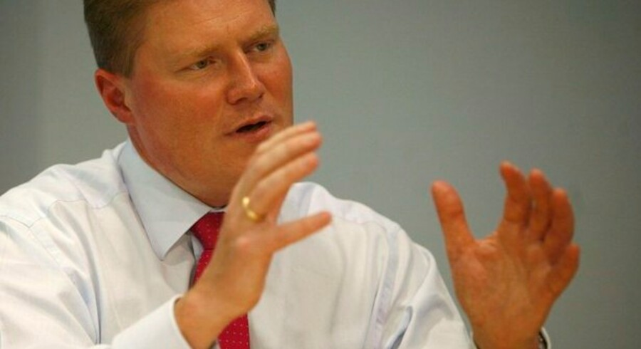 Novo Nordisks finansdirektør, Jesper Brandgaard