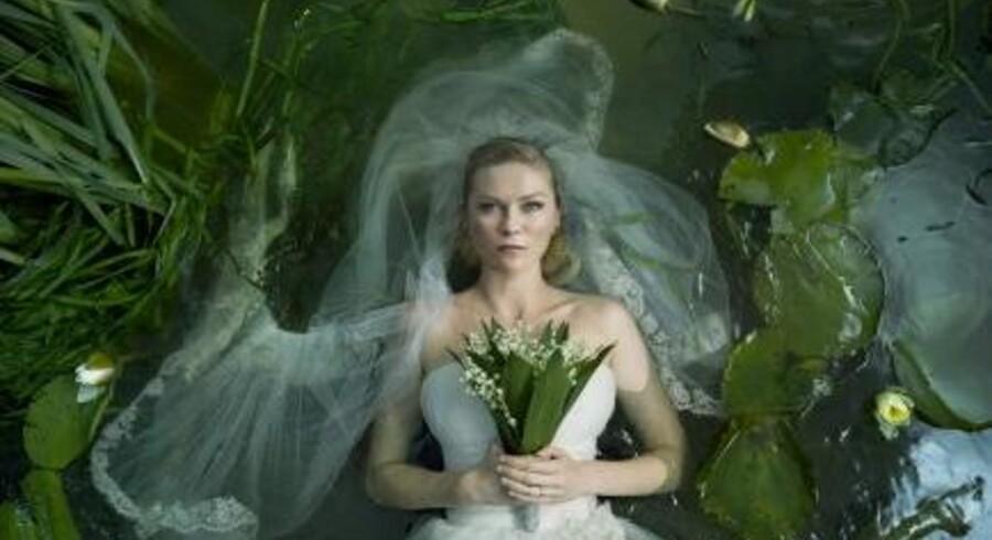 Billede fra filmen Melancholia.