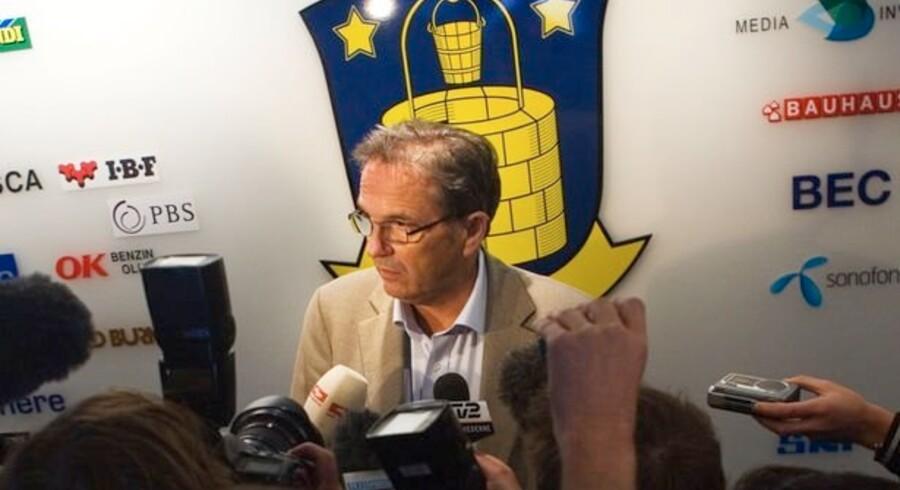 Brøndby IF's formand, Per Bjerregaard