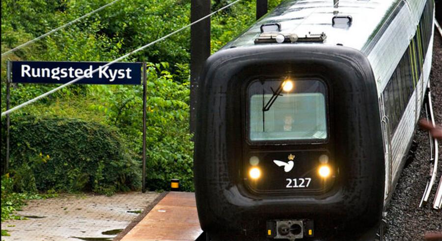 Den store trafikplan er nået til perron, og DSB er yderst tilfreds. Foto: Morten Juhl