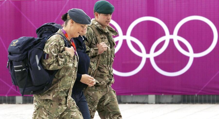 Den britiske hær måtte indsætte ekstra tropper under Ol i London 2012, da sikkerhedskoncernen G4S alligevel ikke kunne håndtere opgaven.