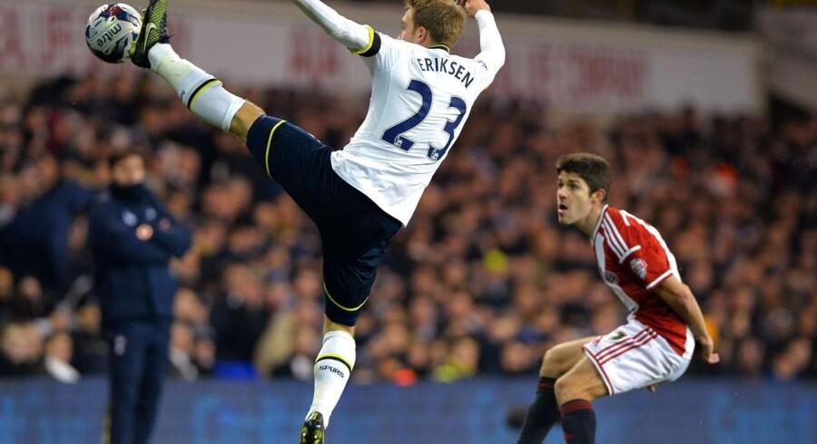 Christian Eriksen spillede hele kampen, da Tottenham slog Sheffield United i Liga Cup'en.