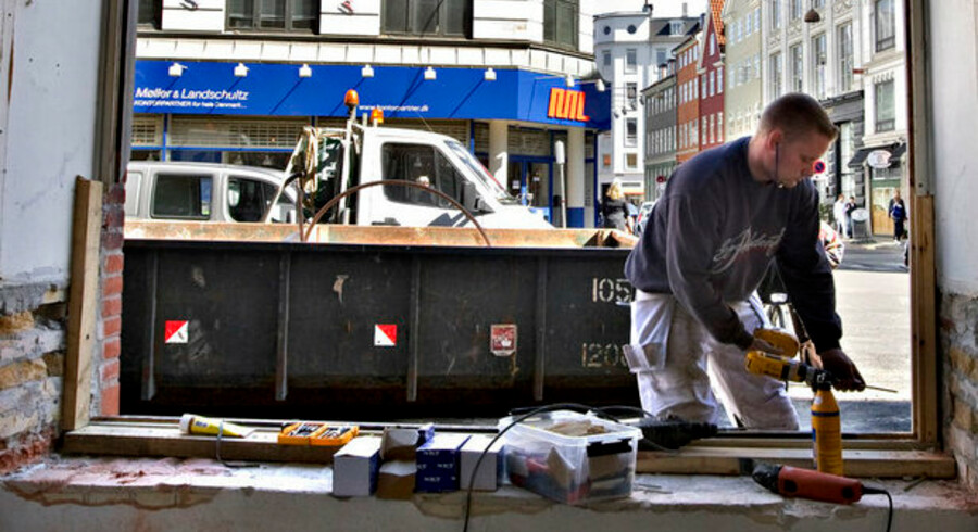 Endnu er håndværkerne ikke overanstrengte på grund af puljen til renovering af boliger, men det kan skyldes sommerferien, mener Håndværksrådet.