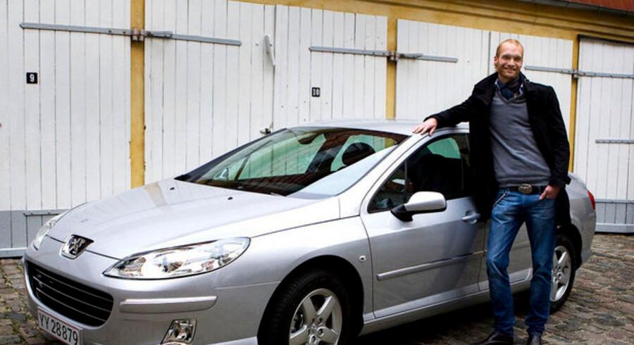 26-årige Nicolai Storgaard løb med aktiespillets hovedpræmie, en Peugeot 407