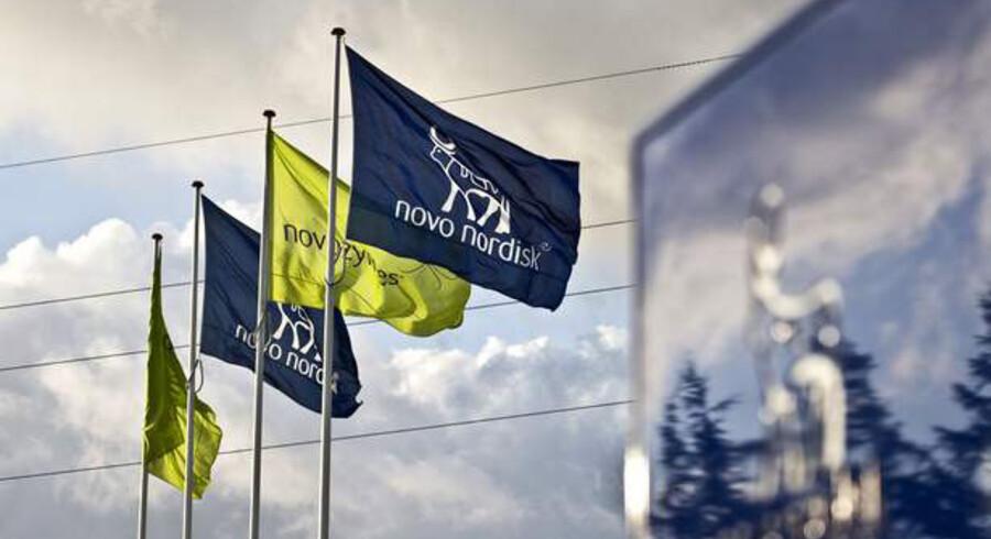 Novo Nordisk får svært ved at tage flere markedsandele.
