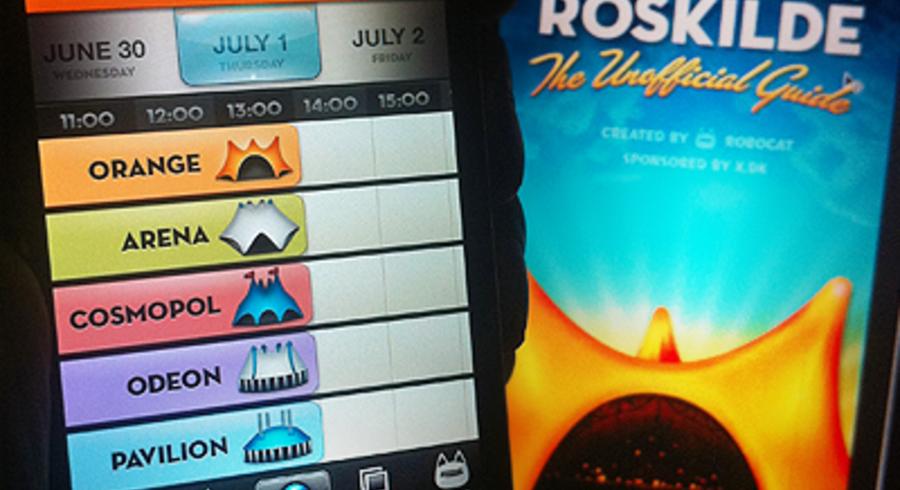 Hvis du kun skal bruge én app på årets festival, så hent Robocats ned.