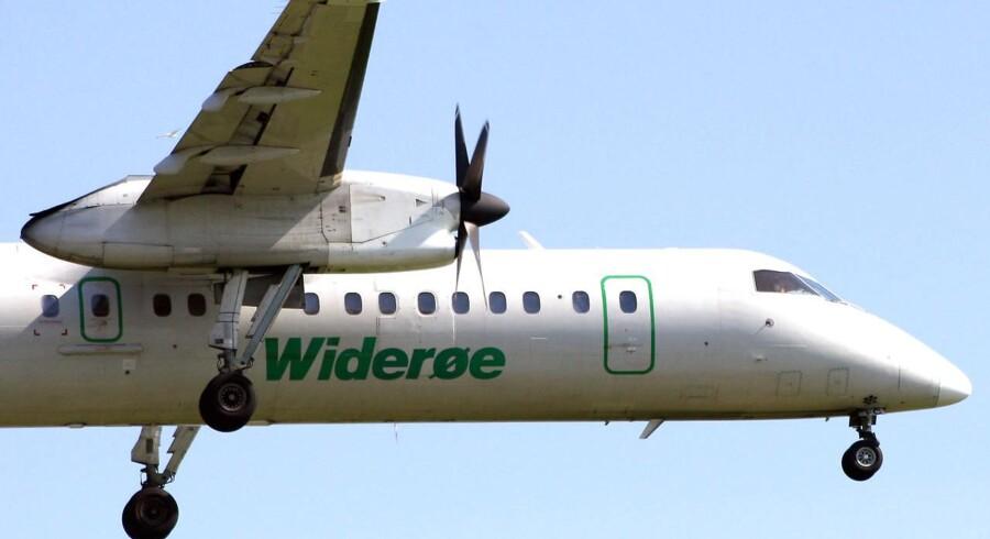 Kriseramte SAS er i gang med at sælge Widerøe, der er det største regionale flyselskab i Norge.