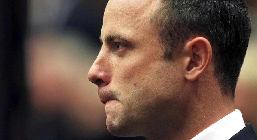 Oscar Pistorius i retten mandag.