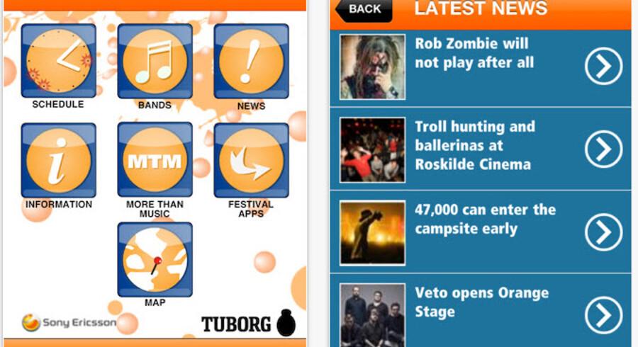 Hvorfor ikke tage skridtet og hyre Robocat som officiel Roskilde-leverandør, når app'en både er mere professionel, stabil, lækker og funktionel? Og festivalen endda selv indrømmer det?