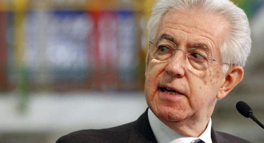 Premierminister Mario Monti.