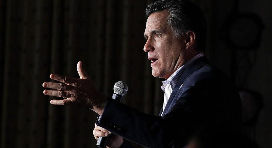 Både Mitt Romney (foto) og Rick Santorum til at få 32 procent af de republikanske stemmer i Ohio.