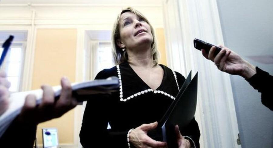 Udenrigsminister Lene Espersen.