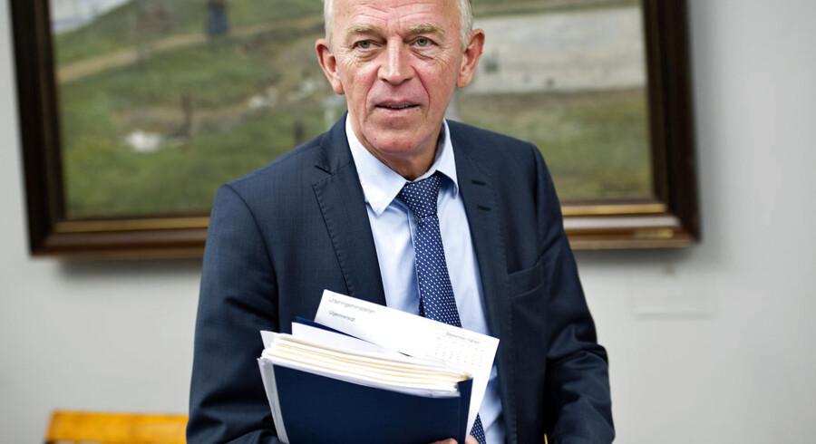 ARKIVFOTO. SF's leder Villy Søvndal meddelte fredag formiddag sin afgang som formand.