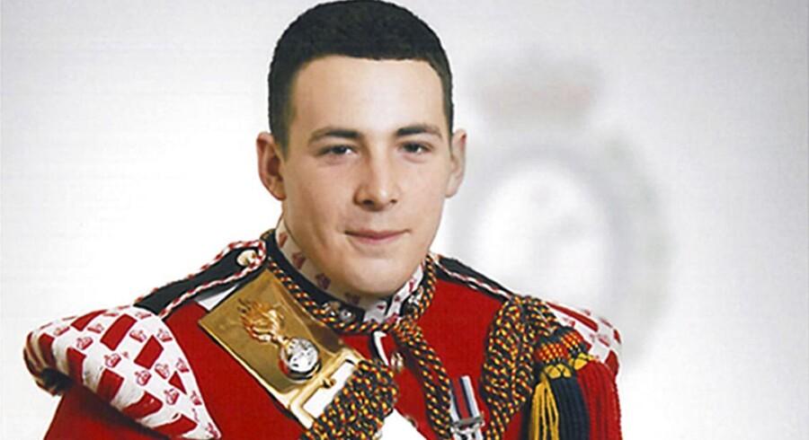 Lee Rigby blev myrdet på gaden i London 22. maj 2013.