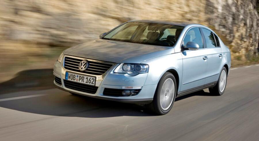 Den mest solgte brugtbil i juni, en VW Passat fra 2006, blev gennemsnitligt sat til salg for 260.000 kroner, 150.000 kroner under indkøbsprisen som ny.