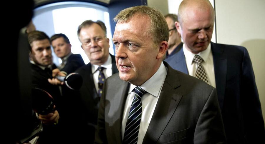 Venstres Lars Løkke Rasmussen.