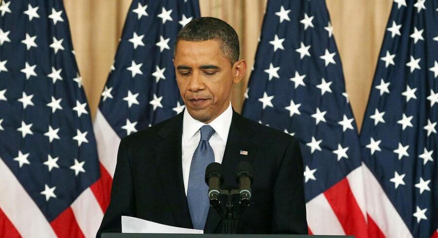 USAs præsident, Barack Obama.