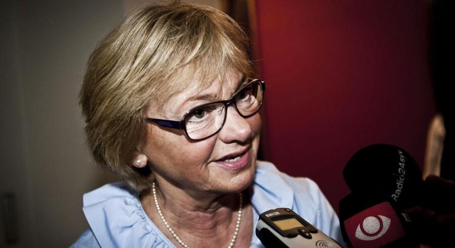Det er en katastrofekurs, regeringen er ude på, lød det fra Pia Kjærsgaard