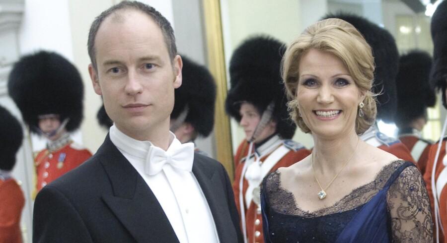 Stephen Kinnock og dennes hustru, Helle Thorning-Schmidt.