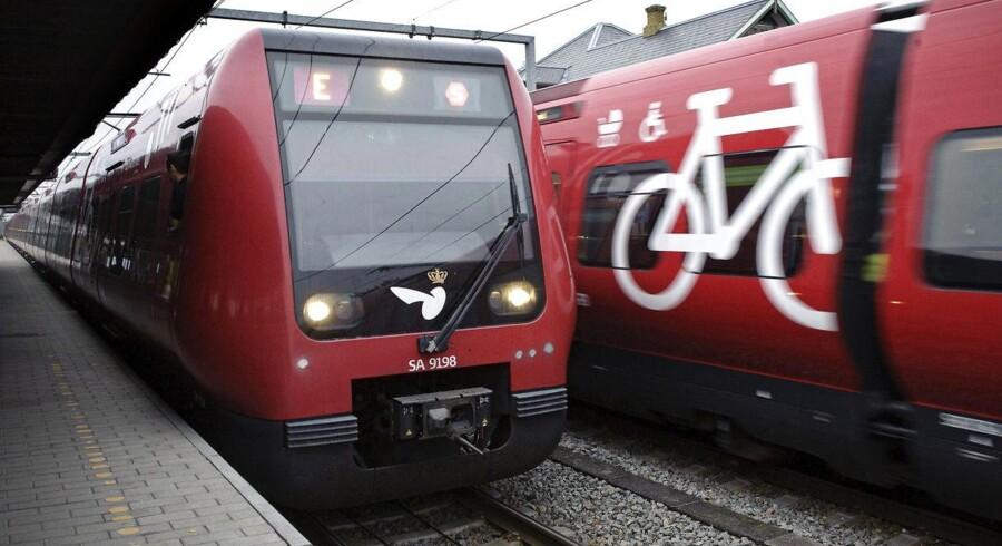 »Det er meget ambitiøst at tro, at der kan køre førerløse tog rundt på S-togsnettet allerede, når det nye signalsystem er færdigt i 2021.«