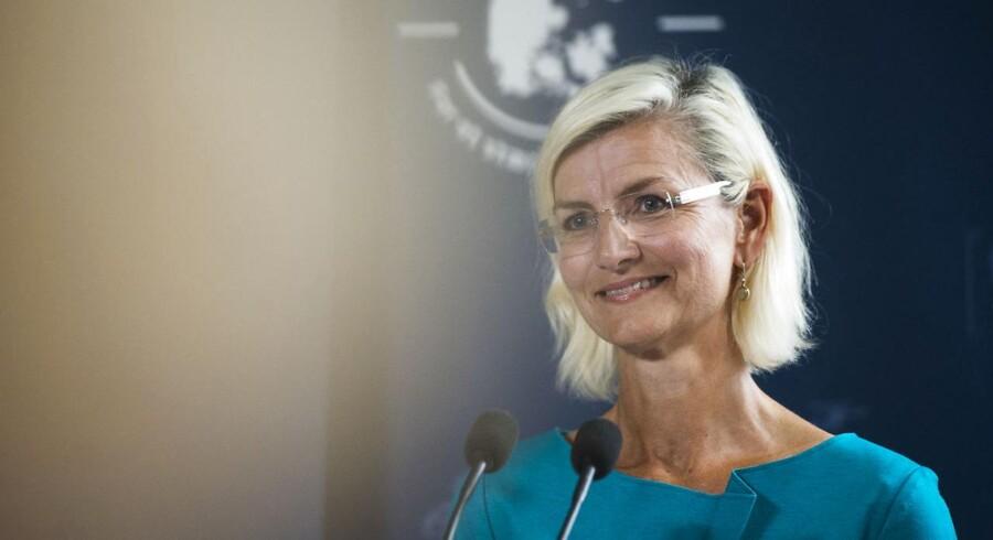 Arkivfoto: Udviklingsminister, Ulla Tørnæs.