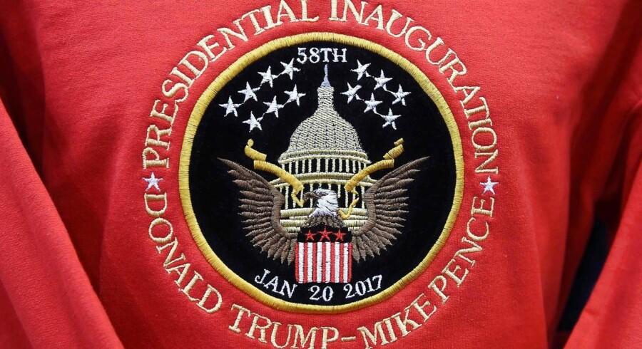 Donald Trump sværges ind som præsident i dag d. 20. januar 2017.