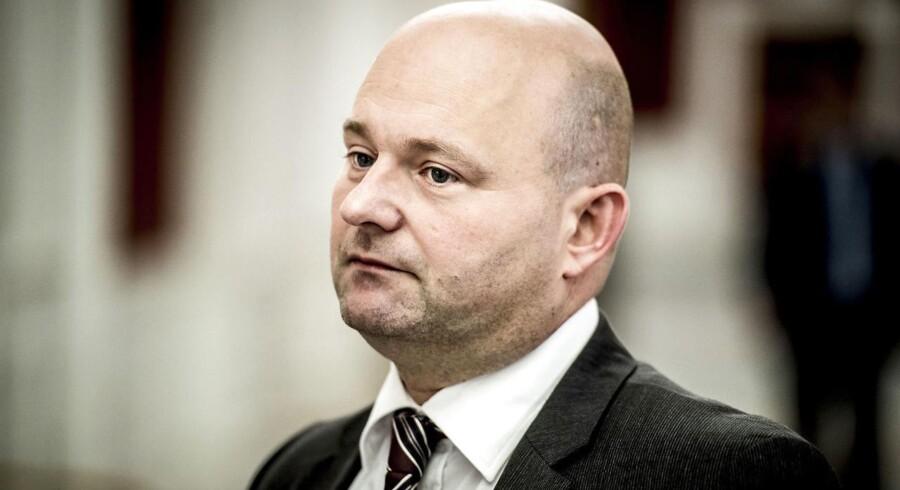 Justitsminister Søren Pape Poulsen.